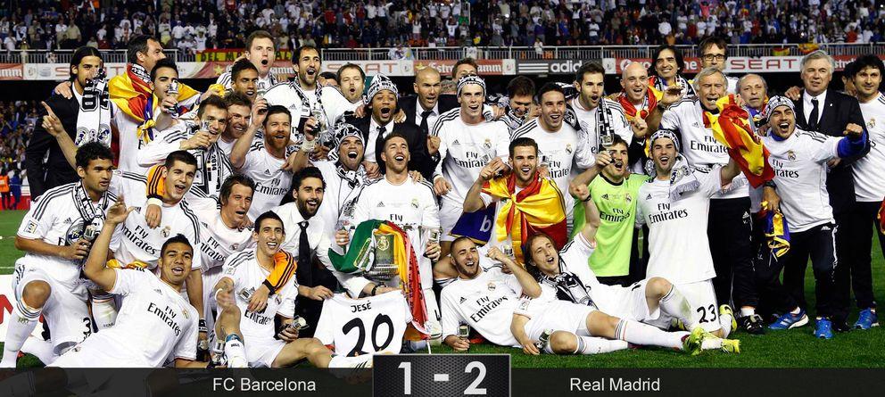 Foto: Bale rompe al Barcelona con un gol que justifica los 92 millones de euros