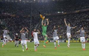 La Juventus gana su tercer 'Scudetto' seguido tras la derrota de la Roma