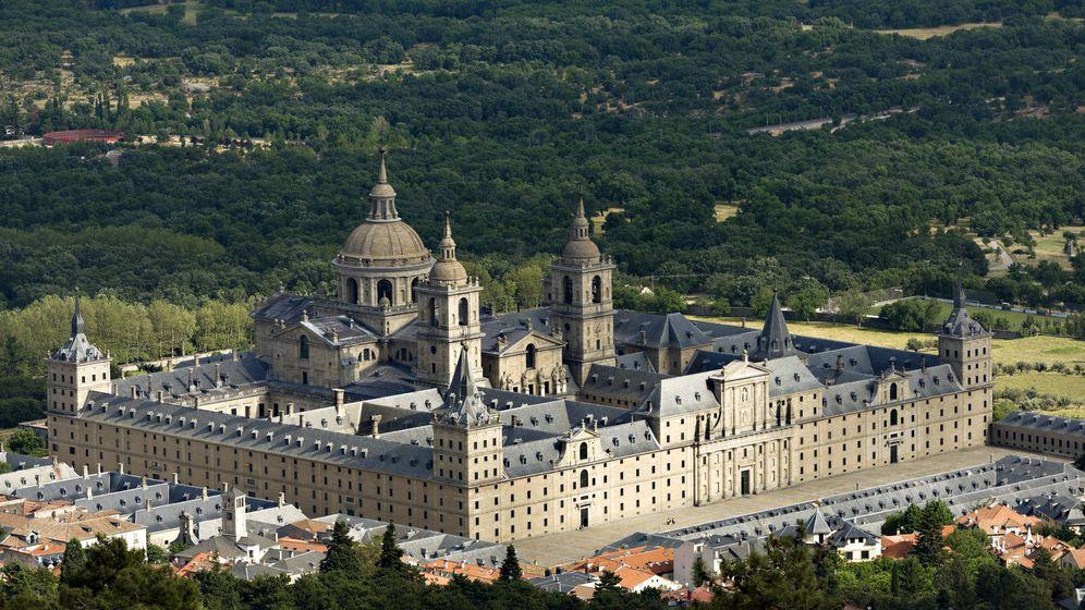 Foto: El monasterio de San Lorenzo del Escorial, de Juan de Herrera (iStock)
