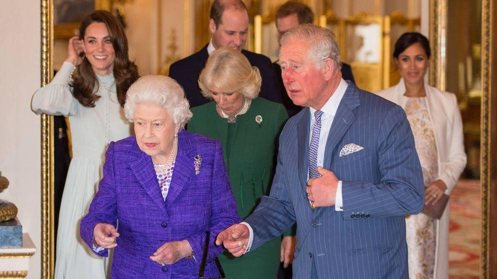Foto: La familia real británica en una imagen de archivo. (Getty)