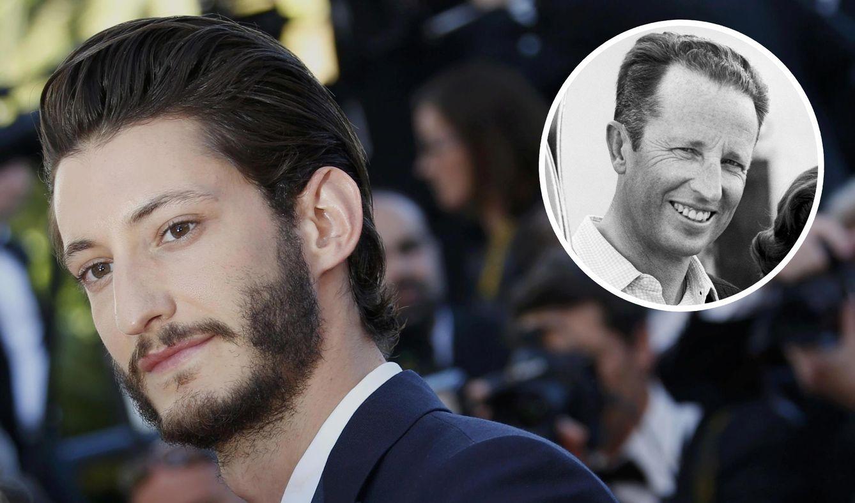 Foto: El actor Pierre Niney durante el Festival de Cannes y el rey Balduino en una foto de archivo (Reuters)