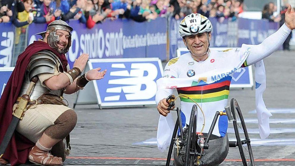 Zanardi o cómo correr el Ironman más duro tras perder las dos piernas