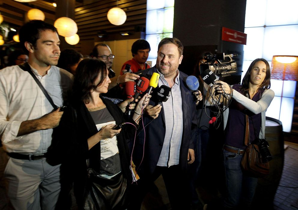 Foto: El líder de ERC, Oriol Junqueras (EFE)