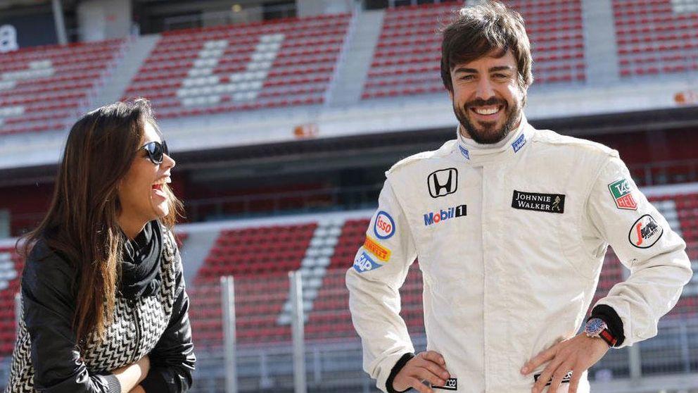 El romántico mensaje de Lara Álvarez a Alonso: Te quiero de aquí a la luna