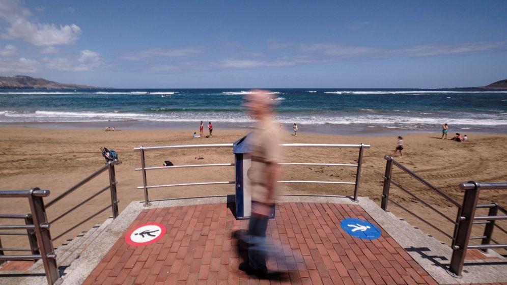 Foto: Playa de Las Palmas de Gran Canaria. (EFE)