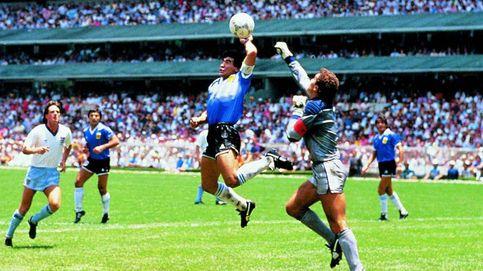 La 'mano de Dios' de Maradona: el gol intencional, antirreglamentario... y divino