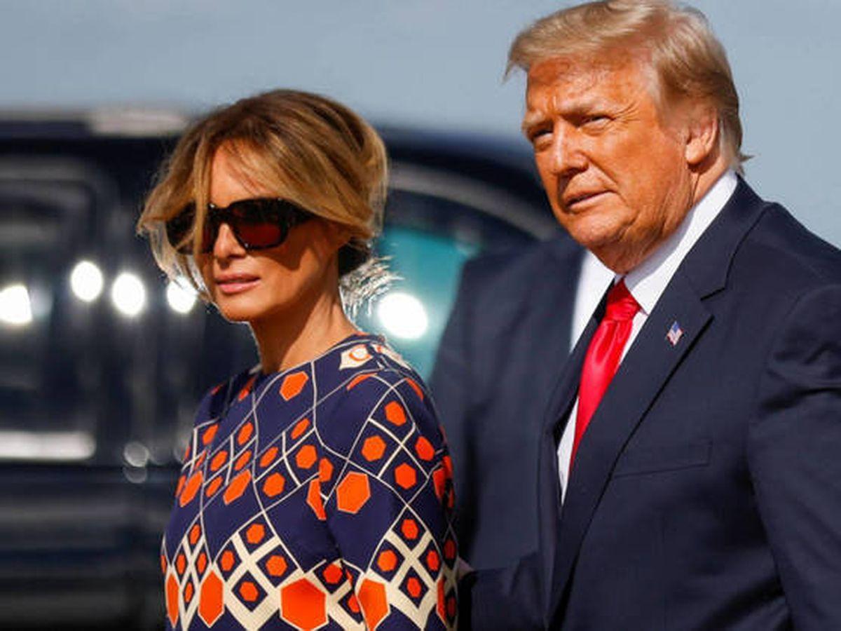Foto:  Melania y Donald Trump. (Reuters)