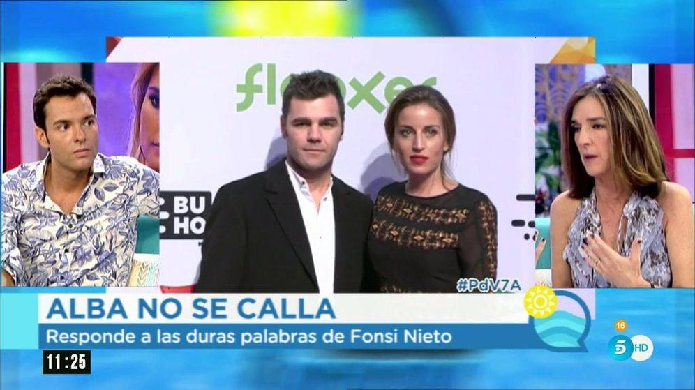 Foto: En 'El programa de AR' hablan sobre Fonsi Nieto y Alba.