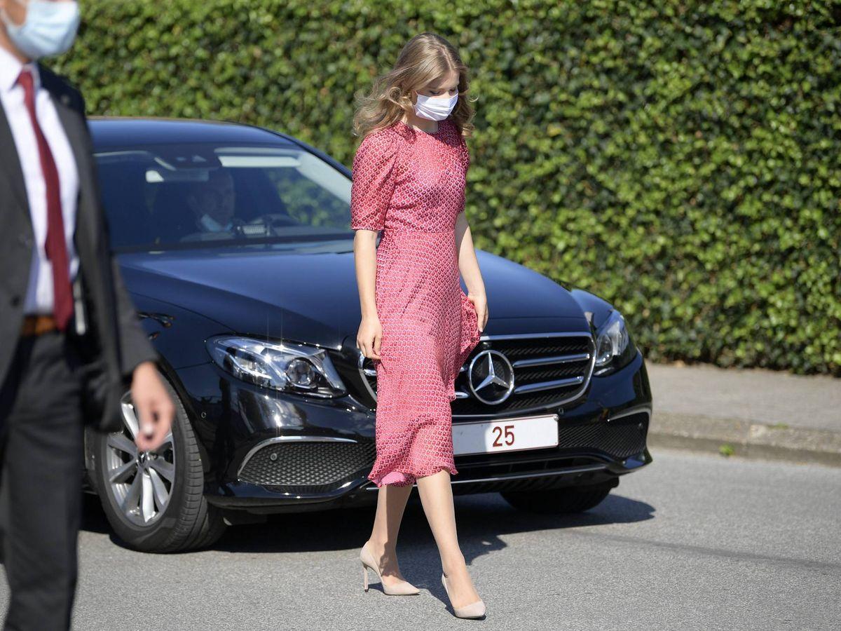 Foto: La princesa Elisabeth, en el Día Nacional de Bélgica. (Cordon Press)