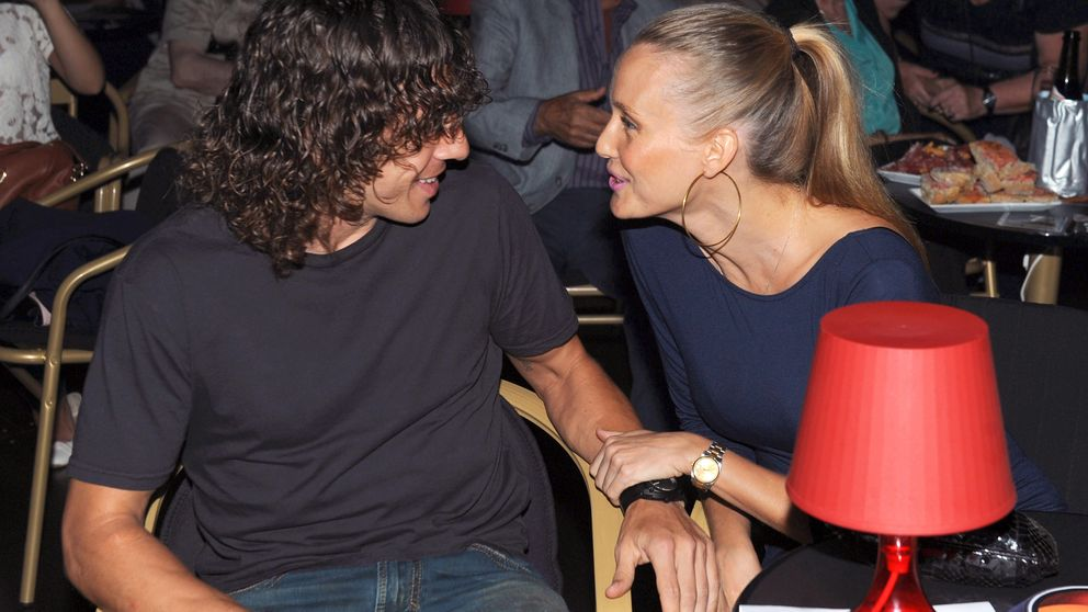 Carles Puyol y Vanesa Lorenzo serán padres por segunda vez