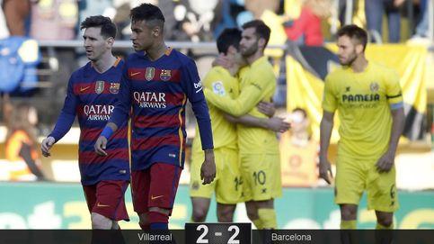 El Barcelona al ralentí es suficiente para empatar contra un buen Villarreal