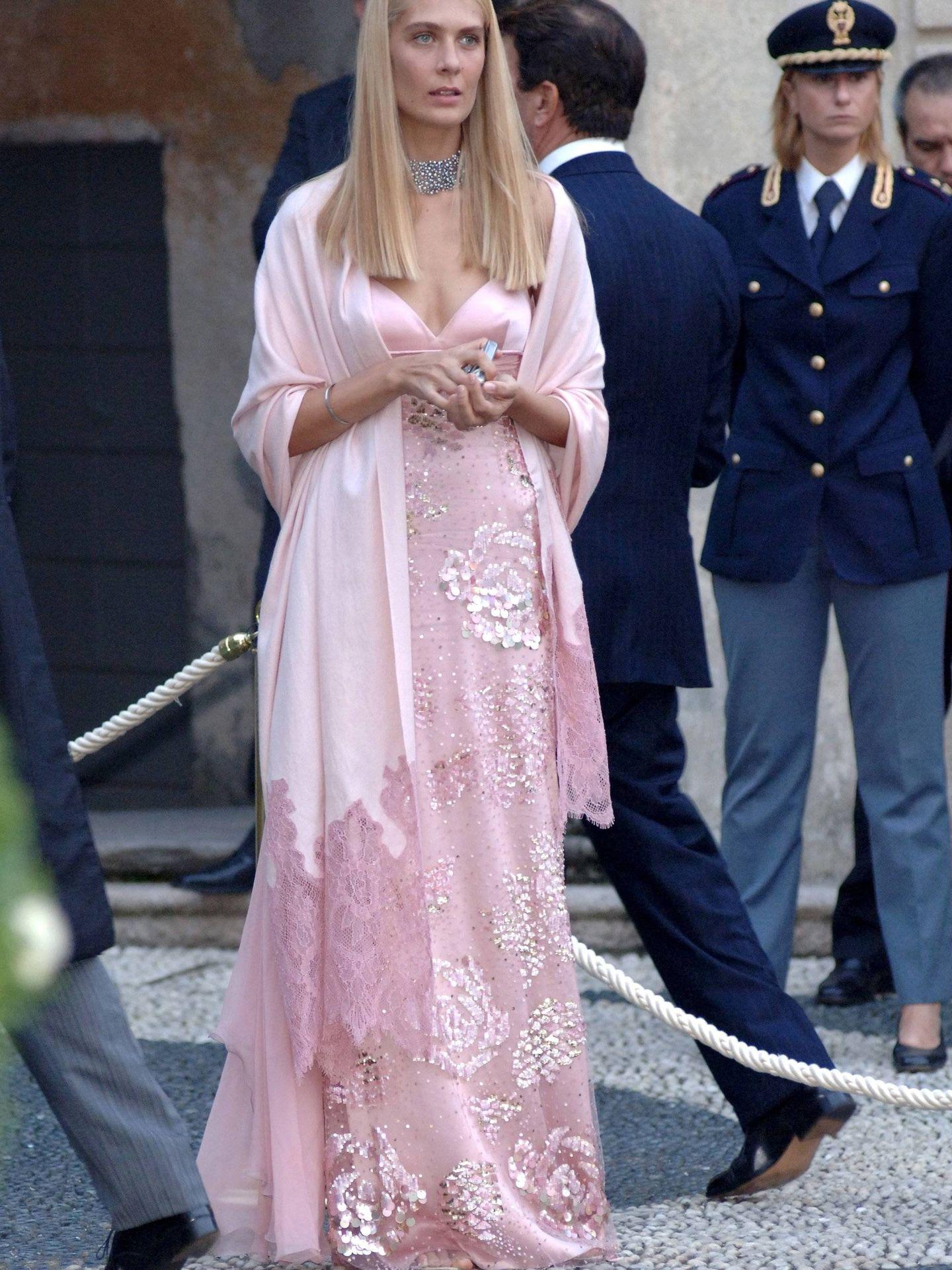 Lavinia, en la boda de Isabella Borromeo. (Cordon Press)