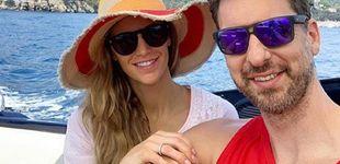 Post de Pau Gasol y Catherine McDonnell: luna de miel idílica en la costa italiana