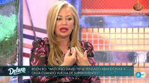 El puñal de Belén Esteban a Isabel Pantoja en 'Sábado Deluxe' por un comentario de Patiño