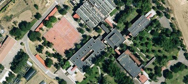 Foto: Visión aérea del colegio Ardarve.