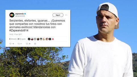 La reprimenda de Frank Cuesta a 'Zapeando' por pedir fotos con 'animales esclavos'