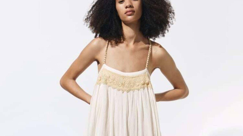El vestido amplio y sostenible de Zara para disfrutar de un verano de estilo