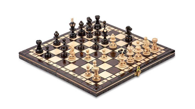Juego de ajedrez profesional para adultos y niños Amazinggirl