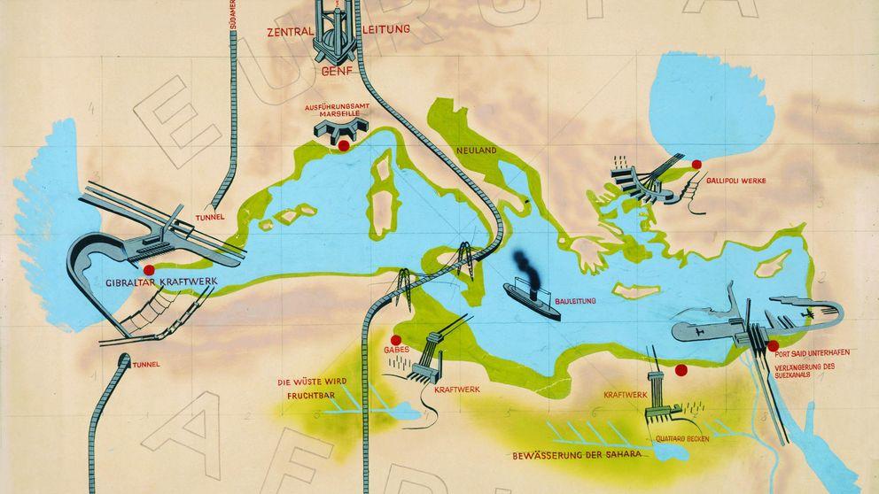 Atlantropa: el plan fantástico para acabar con la crisis de Europa