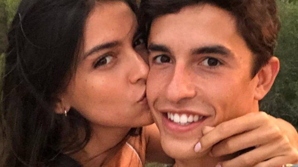 Foto:  Lucía y Marc, enamorados. (Instagram)