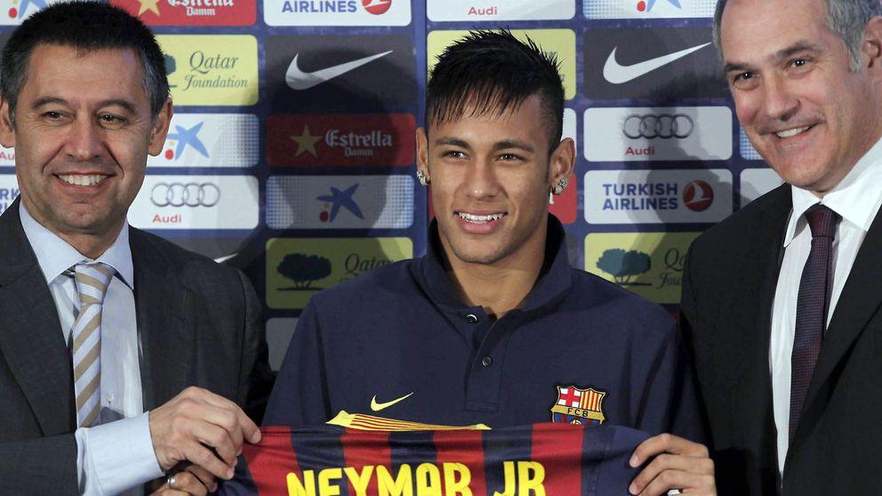 El Barça se defiende: el contrato no bloqueaba a Neymar, él quería jugar en el Nou Camp