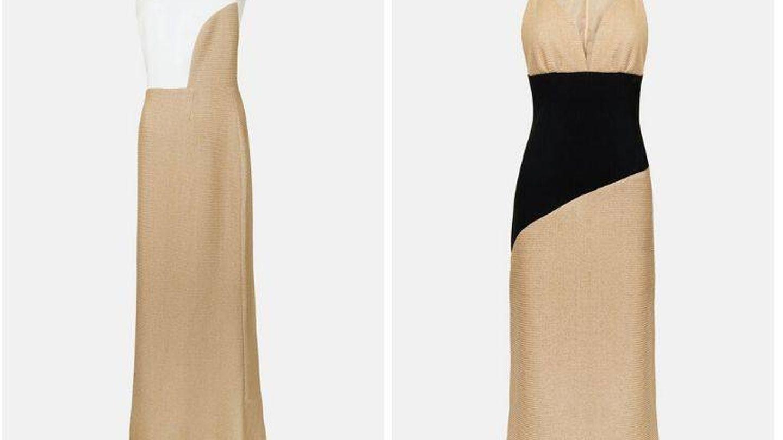 Los vestidos más atrevidos de la colección. (Cortesía)