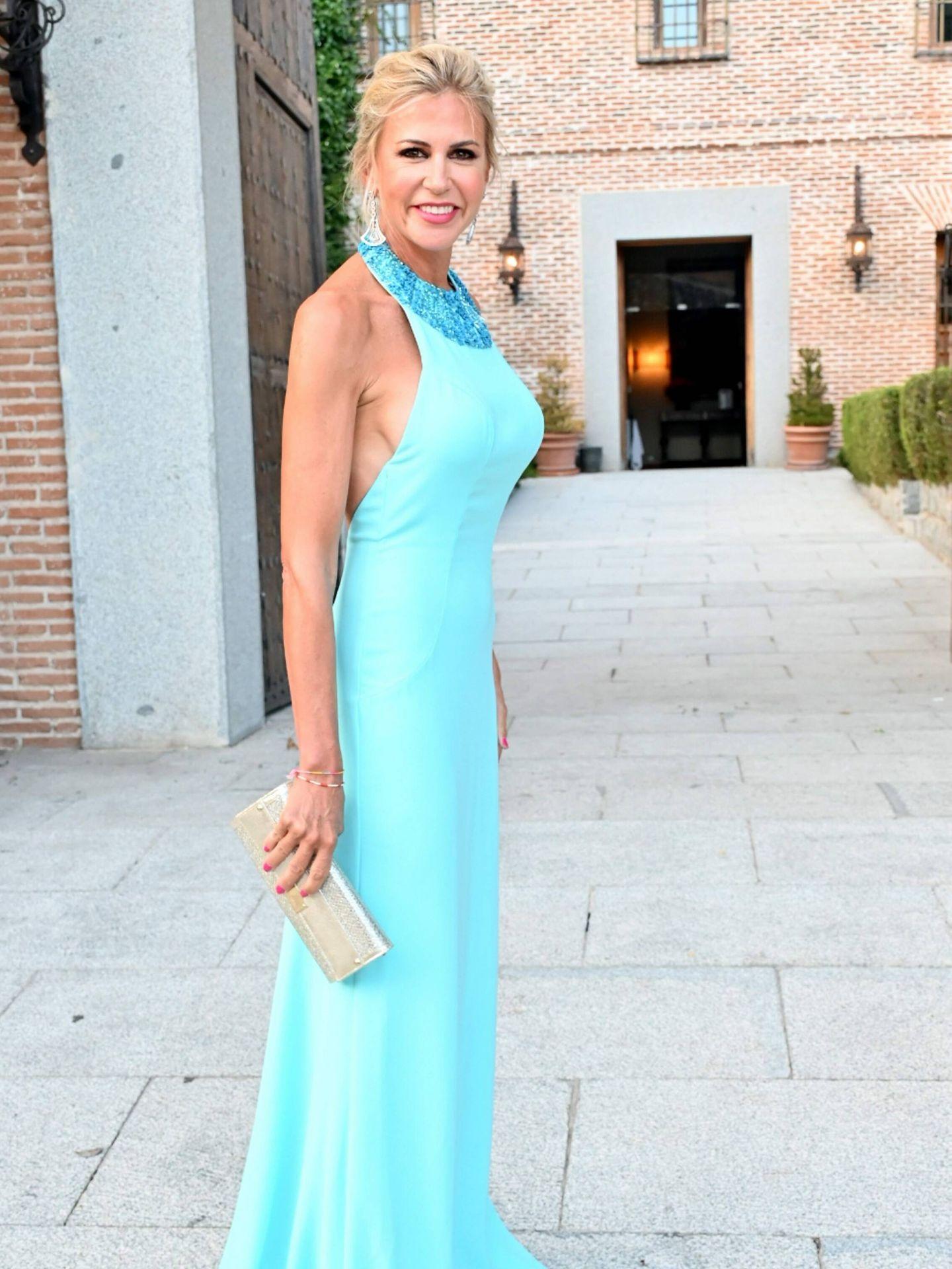 Patricia Cerezo, en la puesta de largo de su hija Natalia. (CP)