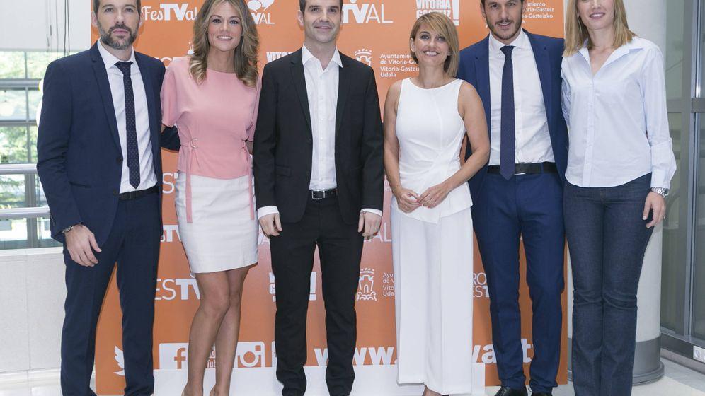 Foto: Telemadrid muestra sus nuevas caras de los Informativos.