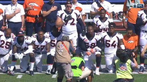 Protesta de los jugadores de fútbol americano contra Trump