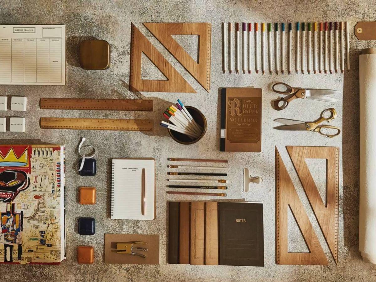 Foto: Zara Home tiene una nueva colección de papelería. (Cortesía)