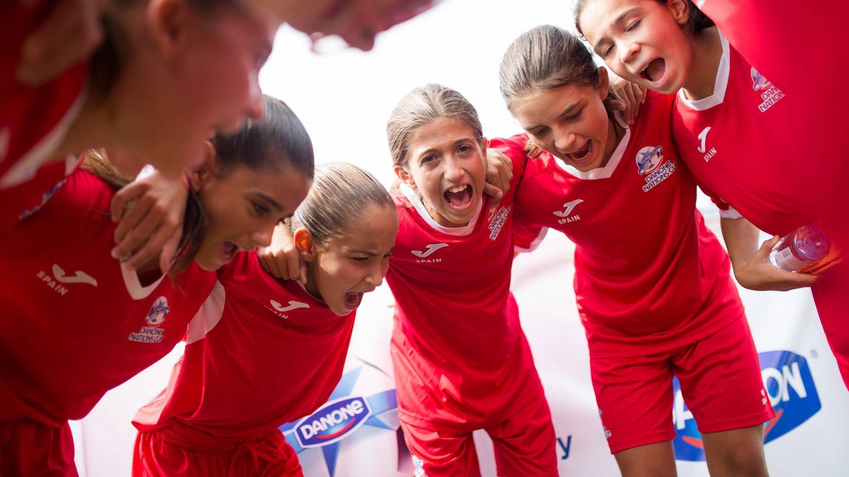 El equipo femenino español de la DNC.