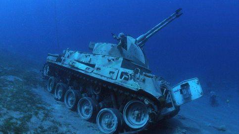 Jordania inaugura un museo militar subacuático