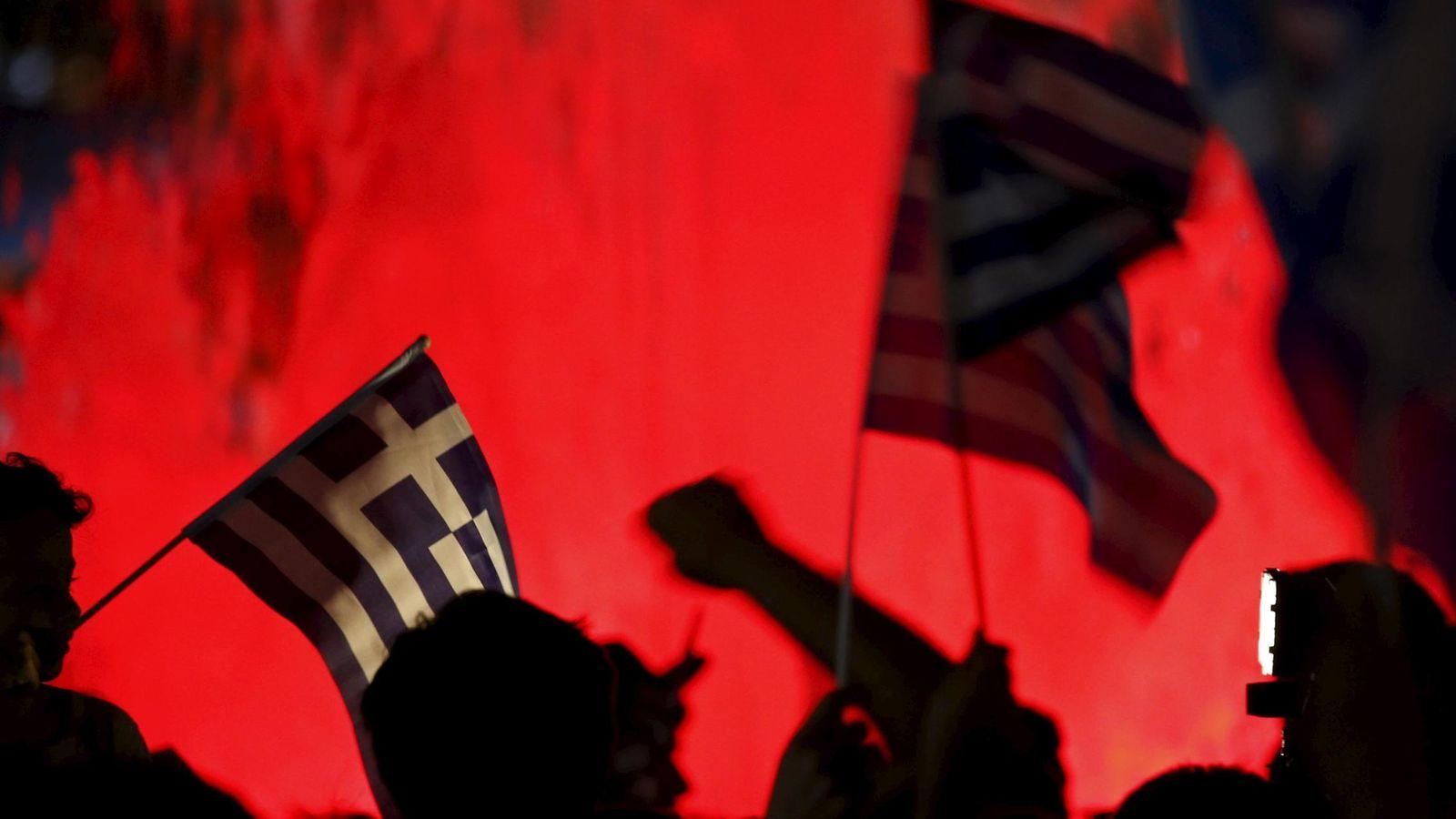 Foto: Manifestación en Grecia. (EFE)