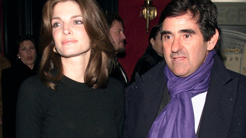Stephanie Seymour y su marido, Peter Brant. (Getty)