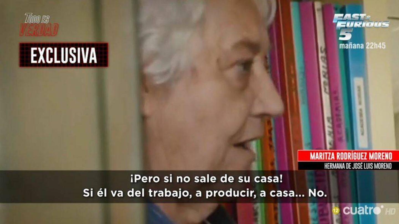 La hermana de José Luis Moreno, en 'Todo es verdad'. (Mediaset España)