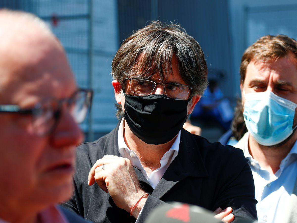 Foto: La rebaja de penas para la sedición en el Código Penal inquieta al mundo de Waterloo