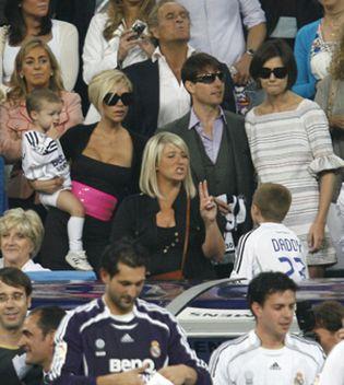 Foto: Los Cruise y los Beckham, juntos de nuevo