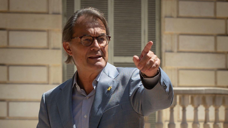 El expresidente de la Generalitat Artur Mas. (EFE)
