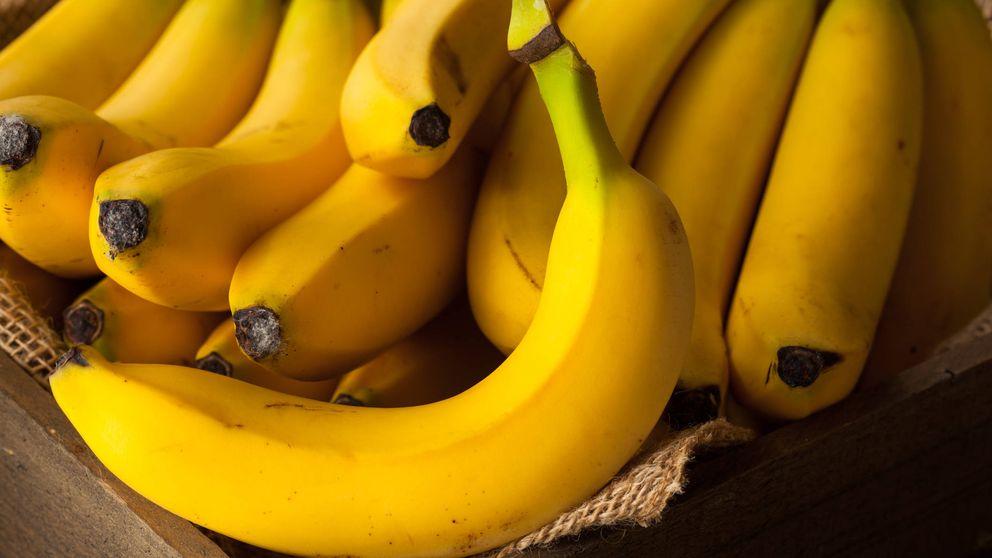 Plátano: suspenso en potasio, sobresaliente en vitamina B6
