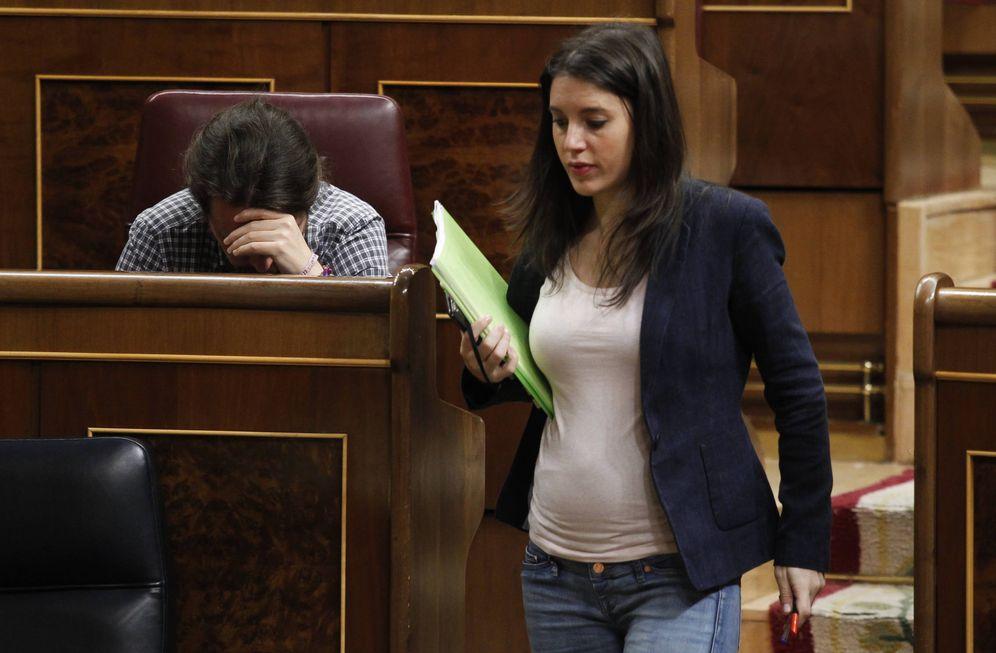 Foto: Irene Montero en el Congreso de los Diputados. (Gtres)