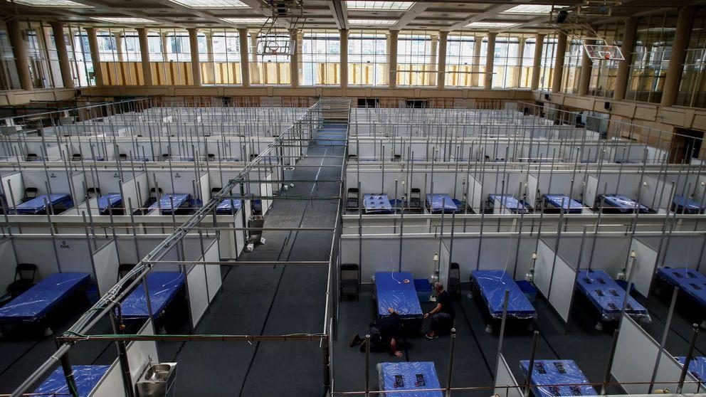 Instalan un hospital de campaña en Lleida para dar respuesta a los rebrotes