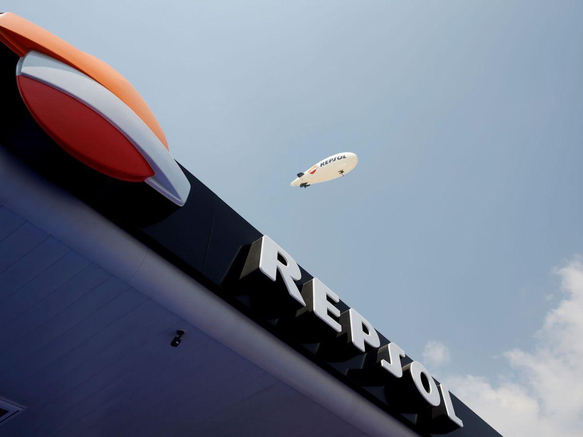 Foto: El logo de Repsol. (Reuters)
