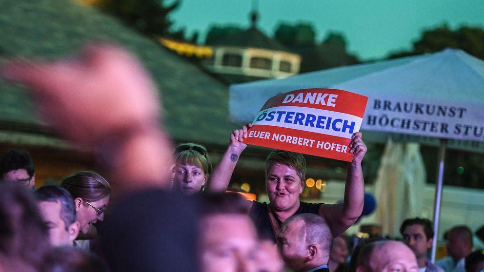 La ultraderecha pierde la presidencia de Austria por menos de 32.000 votos