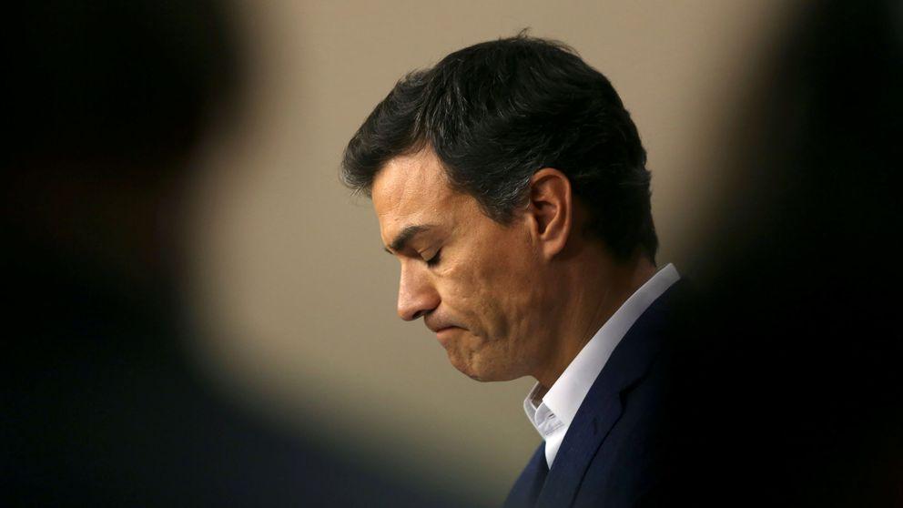 Sánchez deja el escaño al borde de las lágrimas y se lanza a recuperar el PSOE