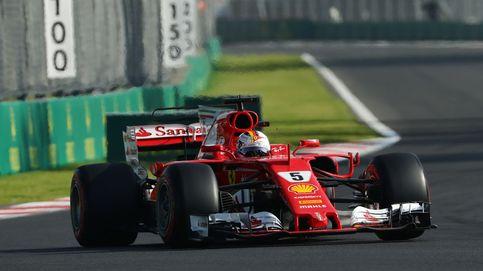 Vettel firma una 'pole' estratosférica con Sainz noveno detrás de Hulkenberg