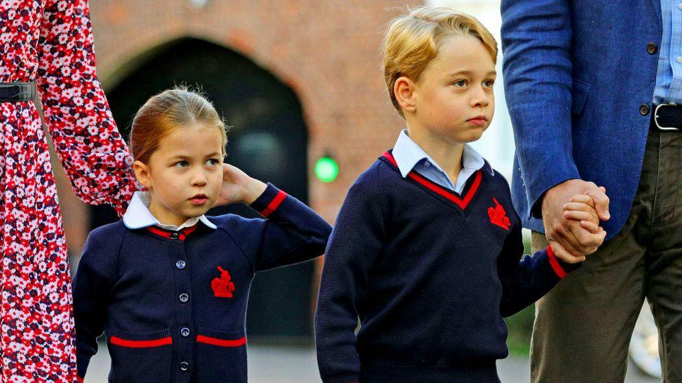 Alerta por coronavirus en el colegio de George y Charlotte: varios alumnos aislados