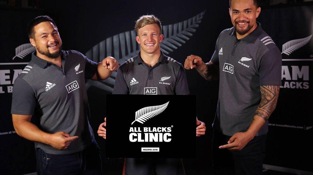 Foto: Cartel promocional del clínic que impartirán los All Blacks en Madrid en agosto. (Kiwi House)