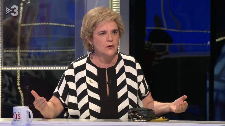 Pilar Rahola entra en cólera por las palabras de Josep Bou en 'Preguntes Freqüents' (TV3)