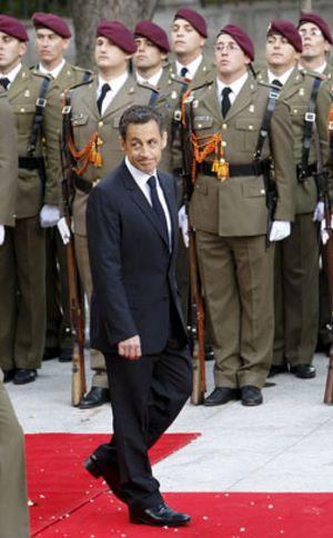 """Sarkozy dice que es un """"deber"""" que España forme parte del G-20"""