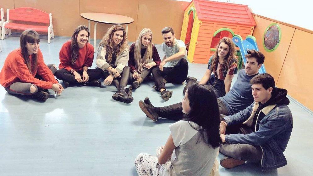 Foto: Los concursantes de 'OT 2017' han visitado el Hospital de Terrassa.